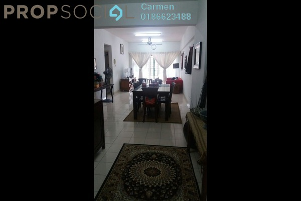 For Sale Apartment at Mandy Villa, Segambut Leasehold Fully Furnished 3R/2B 388k