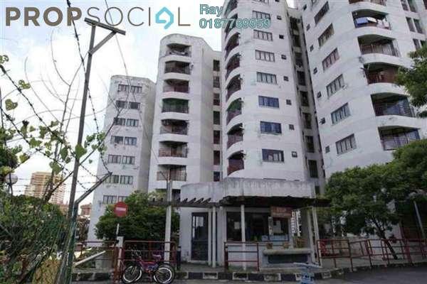 For Rent Condominium at Indah Villa, Bandar Sunway Leasehold Semi Furnished 3R/2B 2k