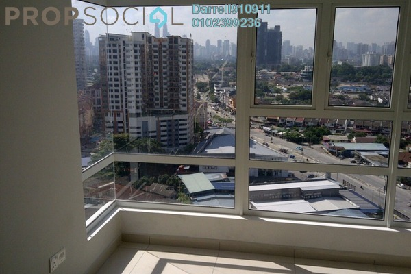 For Rent Condominium at MH Platinum Residency, Setapak Freehold Semi Furnished 2R/1B 2k