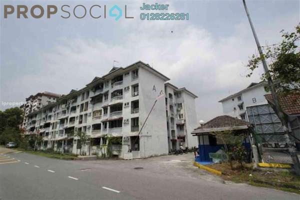 For Rent Apartment at Pandan Lake View, Pandan Perdana Leasehold Semi Furnished 3R/3B 1.1k
