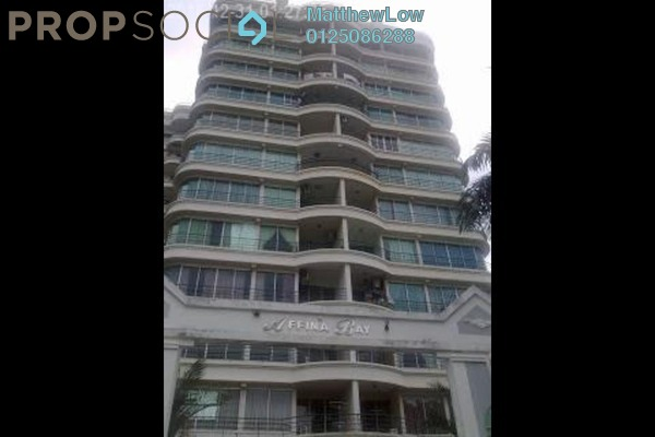 For Sale Condominium at Affina Bay, Butterworth Freehold Semi Furnished 3R/2B 455k