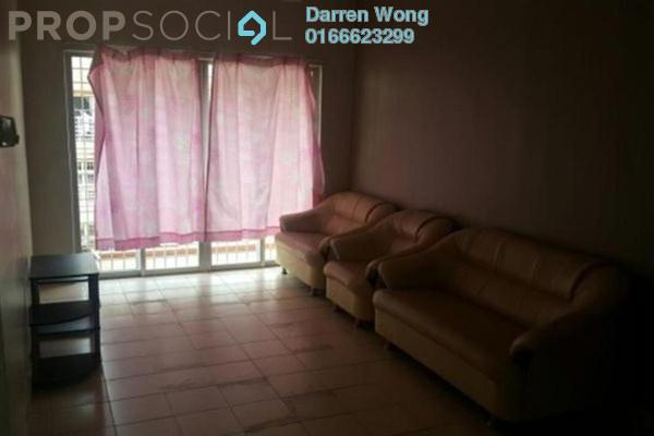 For Rent Apartment at Serdang Villa Apartment, Seri Kembangan Freehold Fully Furnished 3R/2B 1.1k