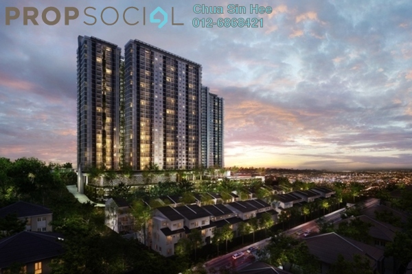 For Sale Condominium at Scenaria, Segambut Leasehold Fully Furnished 3R/2B 667k
