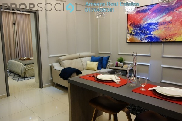 For Sale Serviced Residence at i-City, Shah Alam Freehold Fully Furnished 1R/1B 462k