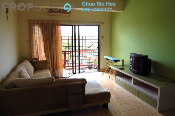 For Sale Condominium at Sri Manja Court, PJ South Leasehold Semi Furnished 3R/2B 459k