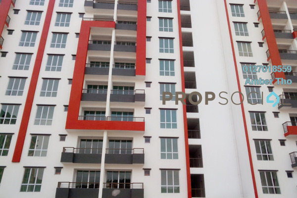 For Sale Apartment at Green Suria Apartment, Bandar Tun Hussein Onn Freehold Unfurnished 3R/2B 351k