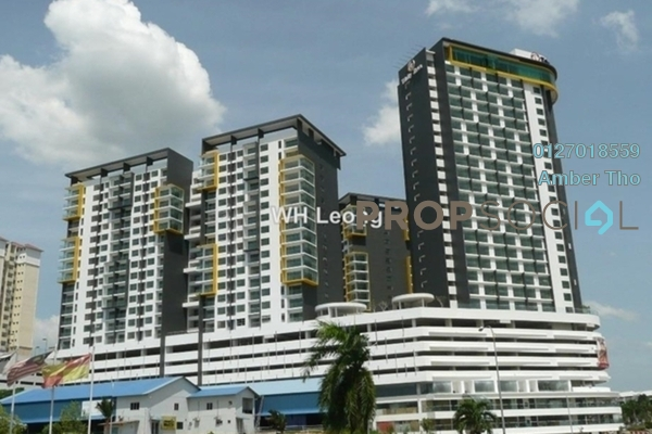 For Rent Condominium at Zeva, Bandar Putra Permai Leasehold Fully Furnished 0R/1B 1.21k