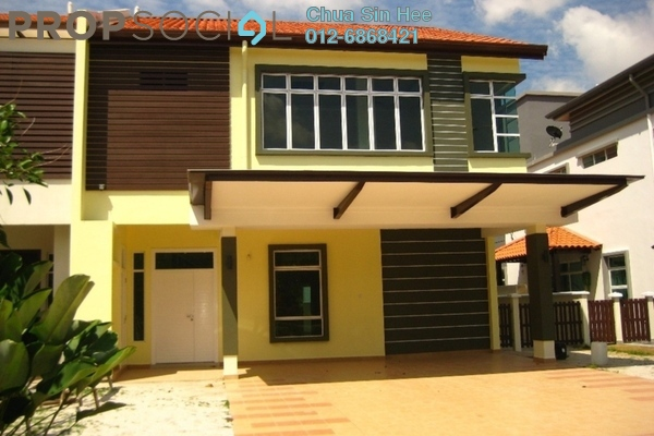For Sale Semi-Detached at Setia Eco Park, Setia Alam Freehold Unfurnished 4R/4B 2.05m