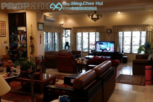 For Sale Bungalow at Suadamai, Bandar Tun Hussein Onn Freehold Semi Furnished 6R/4B 2.7m