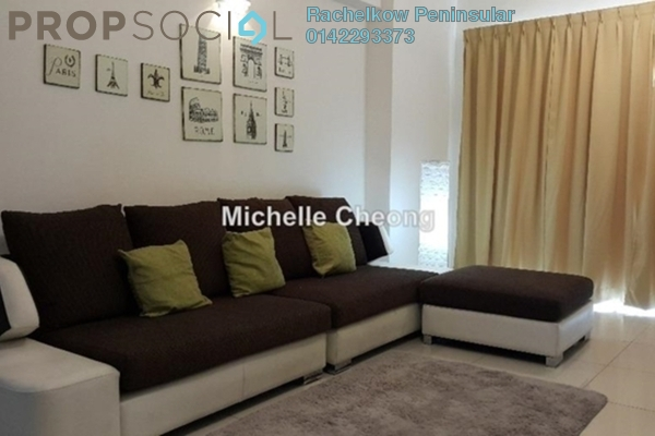 For Rent Condominium at Villa Orkid, Segambut Freehold Fully Furnished 3R/3B 2.6k