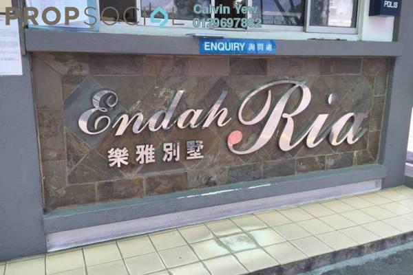 For Rent Condominium at Endah Ria, Sri Petaling Leasehold Semi Furnished 4R/2B 1.8k