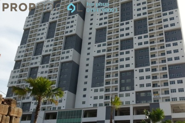 For Sale Condominium at Palma Laguna, Seberang Jaya Freehold Semi Furnished 3R/2B 400k