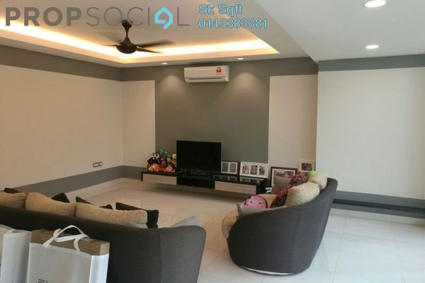 For Rent Duplex at Armanee Terrace I, Damansara Perdana Leasehold Fully Furnished 4R/3B 4k