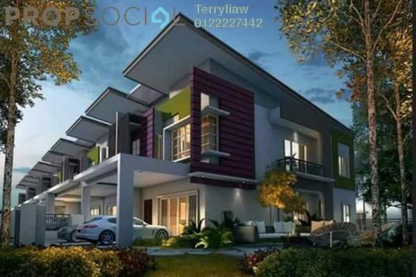 For Sale Terrace at Semanja, Kajang Freehold Unfurnished 4R/4B 738k