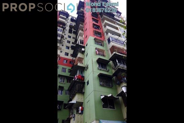 For Sale Apartment at Taman Keramat, Setiawangsa Freehold Semi Furnished 3R/1B 285k