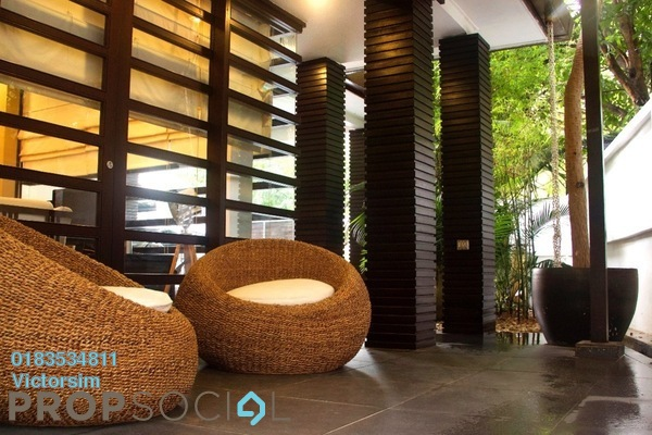 For Sale Terrace at Desa Sri Hartamas, Sri Hartamas Freehold Fully Furnished 3R/3B 2.8m