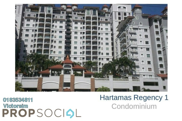 For Rent Condominium at Hartamas Regency 1, Dutamas Freehold Fully Furnished 3R/0B 3.2k