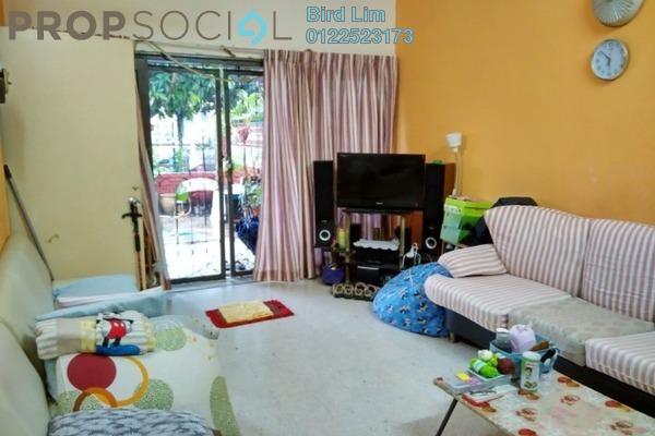 For Sale Terrace at Taman Bukit Anggerik, Cheras South Leasehold Semi Furnished 3R/2B 482k