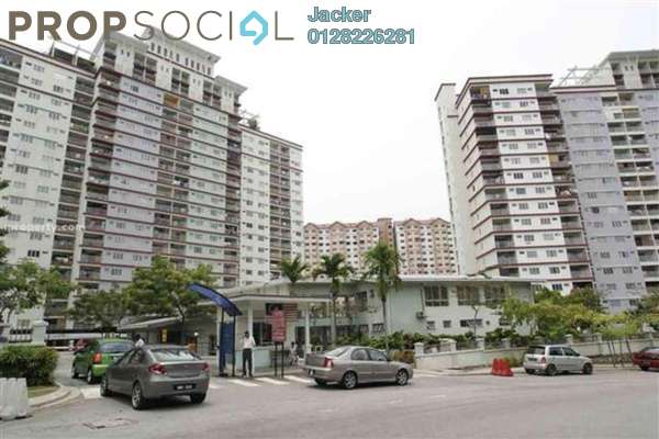 For Rent Condominium at Vista Amani, Bandar Sri Permaisuri Leasehold Unfurnished 3R/2B 1.4k
