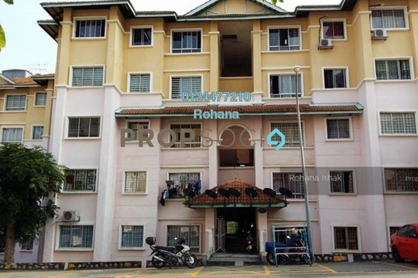 For Sale Apartment at Bandar Puncak Alam, Kuala Selangor Leasehold Unfurnished 3R/2B 165k