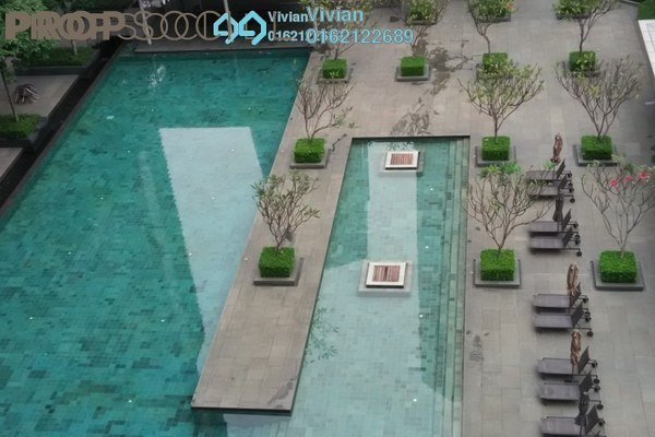 For Sale Duplex at Dua Residency, KLCC Freehold Semi Furnished 5R/5B 3.1m