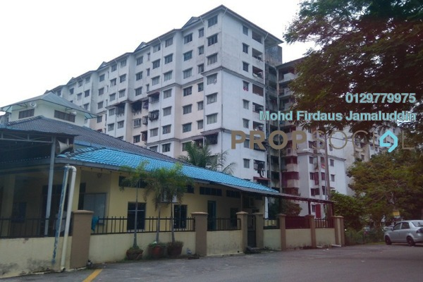For Sale Apartment at Taman Tun Teja, Rawang Leasehold Unfurnished 3R/2B 100k