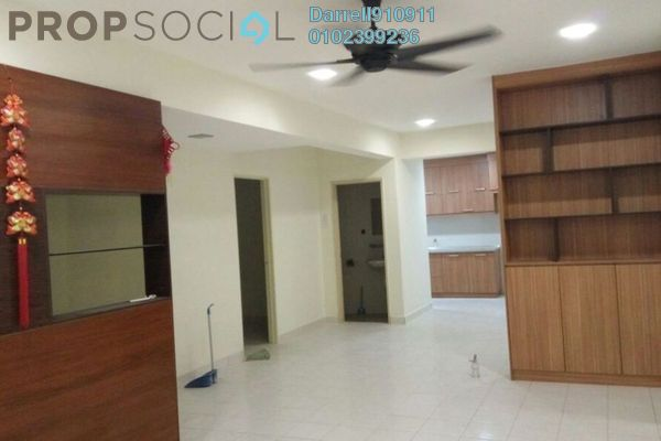 For Rent Condominium at Vista Mutiara, Kepong Leasehold Semi Furnished 3R/2B 1.7k
