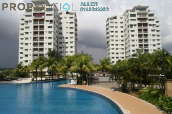 For Rent Apartment at Danga View, Danga Bay Leasehold Fully Furnished 3R/2B 1.5k