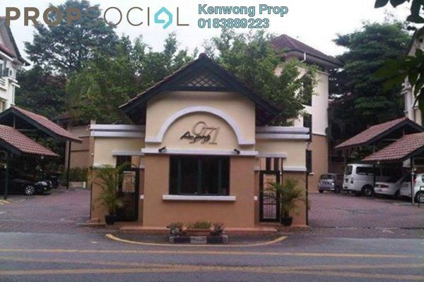 For Rent Townhouse at Ampang 971, Ampang Hilir Freehold Fully Furnished 3R/3B 3.8k