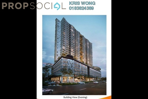 For Sale Serviced Residence at Koi Prima, Puchong Leasehold Semi Furnished 3R/2B 360k