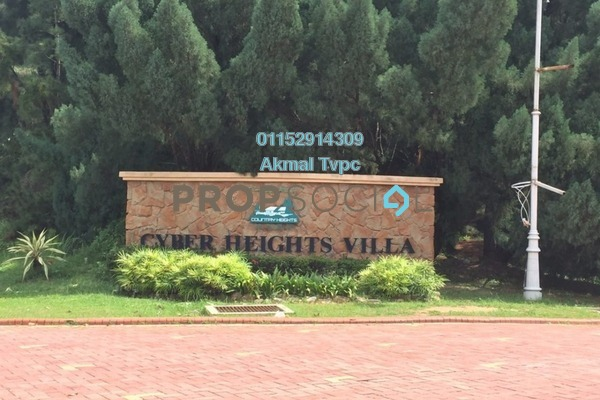 For Sale Condominium at Cyber Heights Villa, Cyberjaya Freehold Fully Furnished 3R/2B 620k