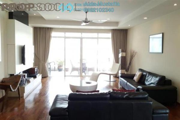 For Rent Condominium at Hijauan Kiara, Mont Kiara Freehold Fully Furnished 4R/4B 8.5k