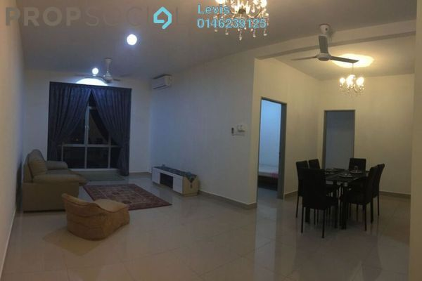 For Rent Condominium at Lakeview Residency, Cyberjaya Freehold Fully Furnished 3R/2B 2k