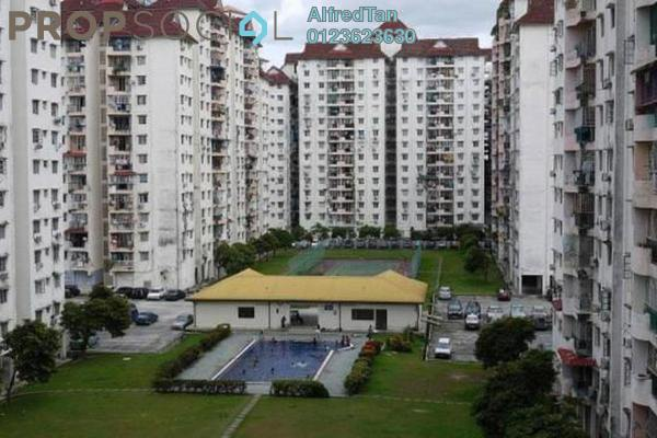 For Sale Condominium at Genting Court, Setapak Leasehold Semi Furnished 3R/2B 255k