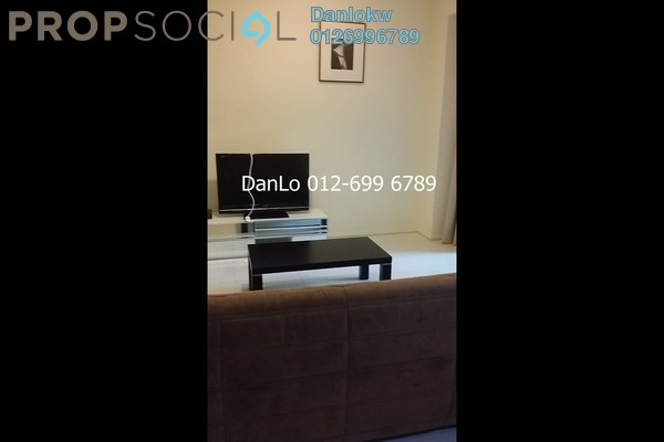 For Rent Condominium at Hampshire Place, KLCC Freehold Fully Furnished 2R/1B 4.6k