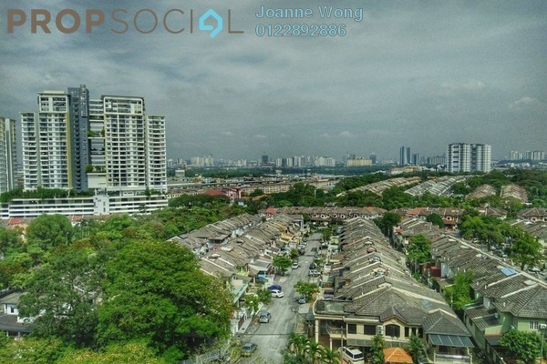 For Rent Apartment at Kenanga Apartment, Pusat Bandar Puchong Freehold Semi Furnished 3R/2B 1.1k