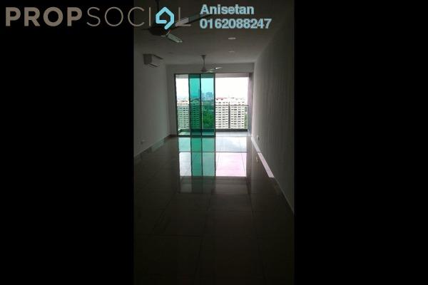 For Rent Condominium at Kiara Residence 2, Bukit Jalil Leasehold Semi Furnished 3R/2B 1.7k