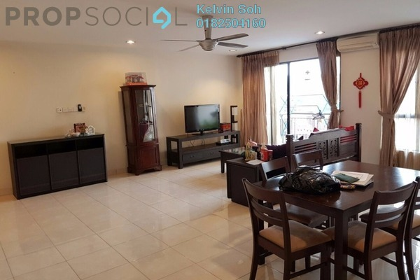 For Rent Condominium at Casa Indah 1, Tropicana Leasehold Fully Furnished 3R/3B 2.6k