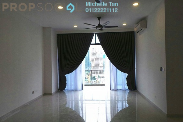 For Rent Condominium at Mirage Residence, KLCC Freehold Semi Furnished 3R/3B 6.5k