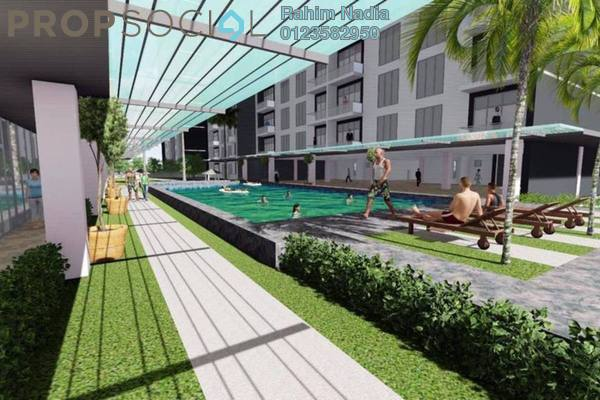 For Sale Apartment at Kampung Sungai Penchala, Kuala Lumpur Freehold Semi Furnished 3R/2B 300k
