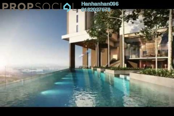 For Sale Condominium at The Andes, Bukit Jalil Freehold Semi Furnished 3R/2B 552k