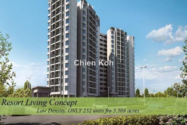 For Sale Condominium at Danau Perintis, Kuala Selangor Leasehold Unfurnished 3R/2B 350k