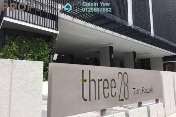 For Rent Condominium at Three28 Tun Razak, KLCC Freehold Fully Furnished 2R/2B 3.5k