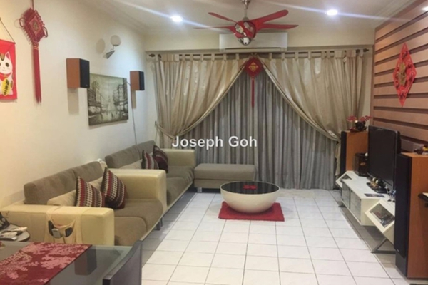 For Rent Condominium at Seri Maya, Setiawangsa Leasehold Fully Furnished 3R/2B 2.5k