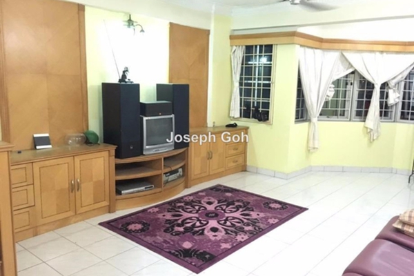 For Sale Condominium at Heritage, Setapak Freehold Semi Furnished 3R/2B 360k