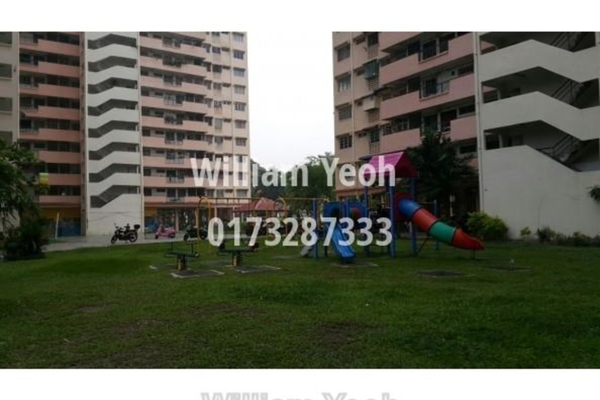 For Sale Apartment at Taman Sri Rampai, Setapak Leasehold Unfurnished 3R/2B 330k