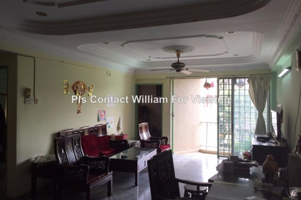 For Sale Condominium at Teratai Mewah Condominium, Setapak Leasehold Unfurnished 3R/2B 350k