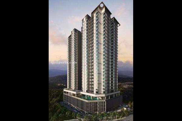 For Sale Condominium at 288 Residency, Setapak Leasehold Unfurnished 3R/3B 620k