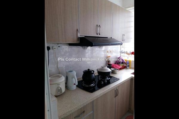 For Sale Condominium at 222 Residency, Setapak Leasehold Unfurnished 2R/2B 465k