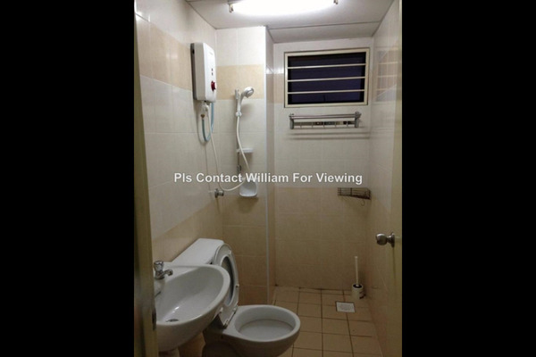 For Sale Condominium at Putra Villa, Gombak Leasehold Unfurnished 3R/2B 460k
